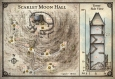 Scarlet Moon Hall Map