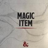 D&D Essentials Kit Magic Item Card (Back)